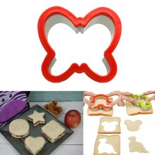 Sandwich Cutter Butterfly Shape Cookie Biscuit Pastry Baking Stainless Steel