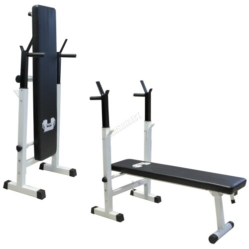 FIT4YOU Foldable Bench Press - Chest Weight Indoor Fitness Exercise Home Gym Workout