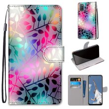 OPPO A52, A92, A72 Case Pattern Cover Folio with kickstand Glass pattern