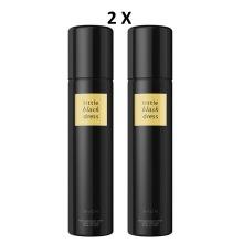 2 X Avon Little Black Dress Perfumed Body Spray Discontinued 75ml