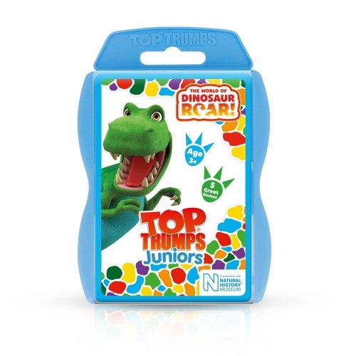 Dinosaur Roar Top Trumps Junior Card Game