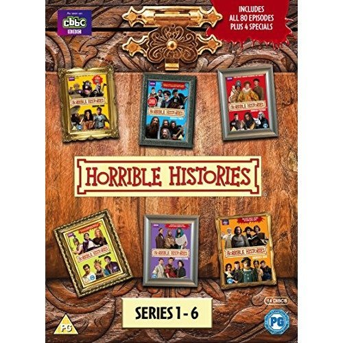 Horrible Histories Series 1 to 6 Complete Collection Plus Specials DVD [2015]