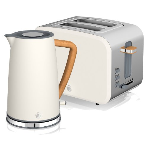 Nordic Jug Kettle and 2 Slice Toaster