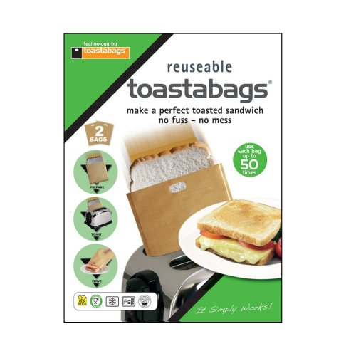 2pc Reusable Toastabags®   Sandwich Toaster Bags