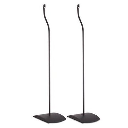 (Black) Bose UFS-20 Series II Floor Stands