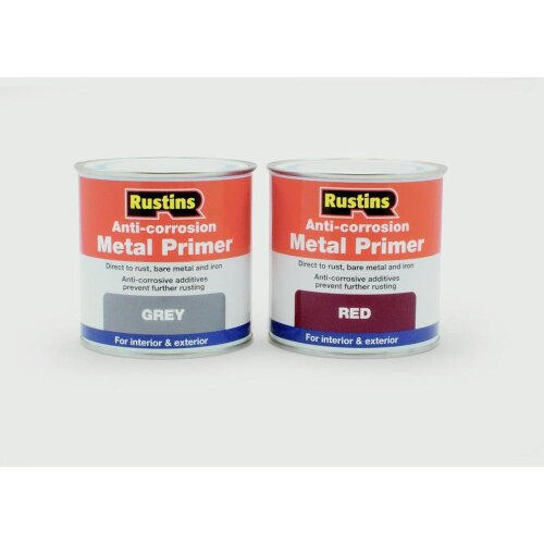 Anti-Corrosion Metal Primer 250ml, Grey