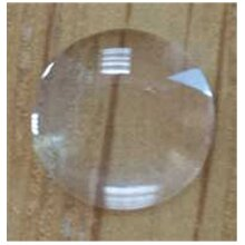 Date Magnifying Bubble Watch Glass 3.5 mm, & 1 x Tube of G&S Cement