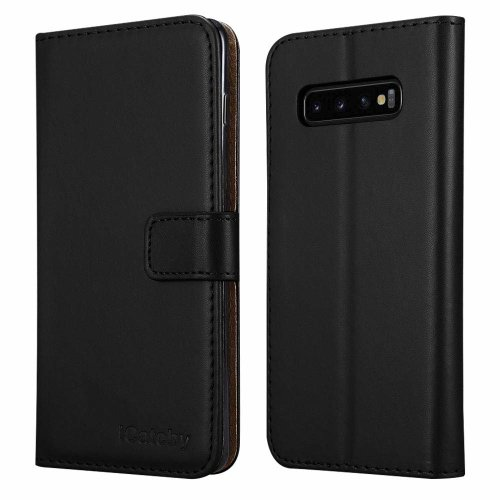 For Samsung Galaxy S10 Plus Wallet Leather Case