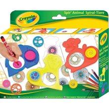 Crayola Spir'Animal Spiral Art Set | Kids' Spirograph