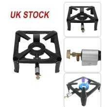 New Cast Iron Large Gas LPG Burner Cooker Boiling Ring Restaurant