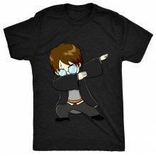 8TN Dabbing Harry Dab - Funny Kids Fan Potter Wizard Unisex-children T Shirt