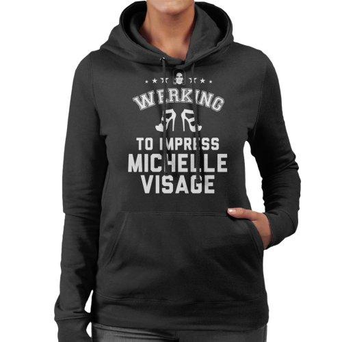 Werking To Impress Michelle Visage Women's Hooded Sweatshirt
