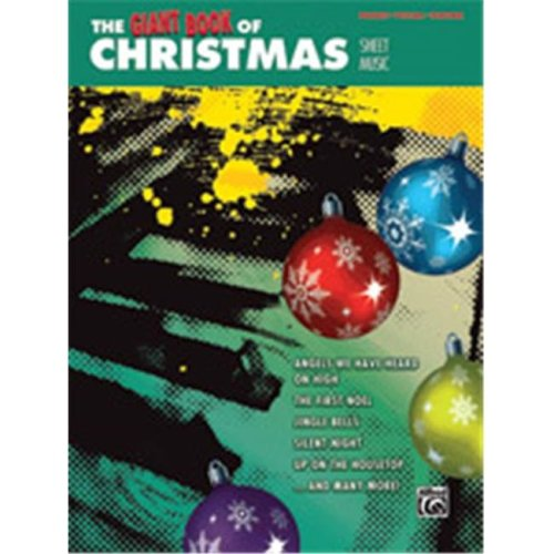 Alfred 00-42389 GIANT BOOK OF CHRISTMAS SHEET- PVG