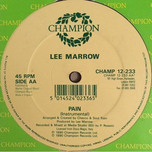 Pain - Lee Marrow - vinyl - Used