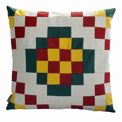 Patchwork SofaBedAuto Pillows Cushion Canvas Square Decorative Pillows
