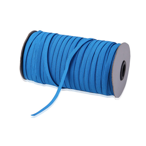 Trimming Shop Flat Elastic Band, 5mm Wide Braided Stretch Strap Elastic Cord, Multi functional Elastic String for Sewing, Crafting, Knitting, Making
