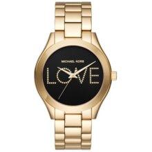 Michael Kors Slim Runway Love Women's Watch MK3803 New With Tags