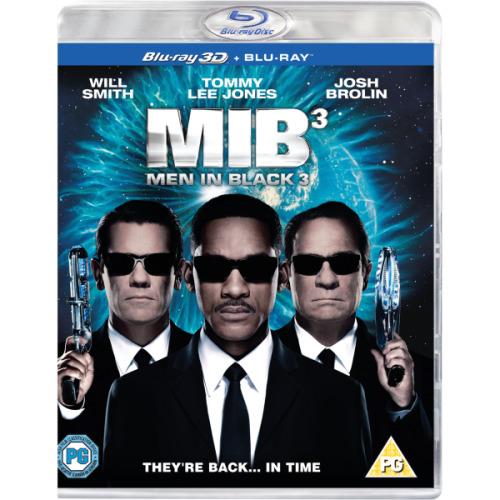 Men In Black 3 3D+2D Blu-Ray [2012]