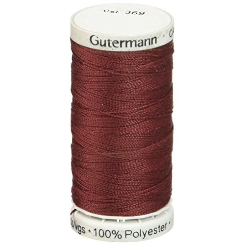 Gutermann Extra Strong Polyester Upholstery Thread, 100m/109 yd, Burgundy