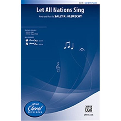 Alfred 00-35517 LET ALL NATIONS SING-STRX CD