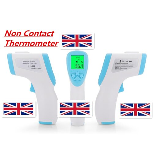 LED Gun Digital Non-Contact Forehead Thermometer for Adults and Baby
