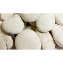 Ivory White Beach Stones 30-80mm
