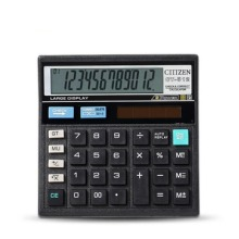 CT-512 Calculator Economical Solar Dual Power Computer Office Home School Stationery