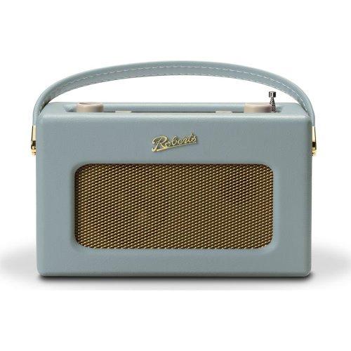 ROBERTS Revival RD70DE Portable DABﱓ Retro Bluetooth Clock Radio - Duck Egg