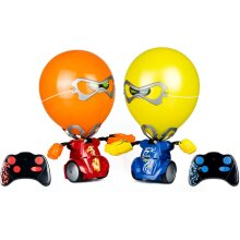 Silverlit Robo Balloon Puncher Toy Set 2 pcs Multicolour Kids RC Smart Robot Toy