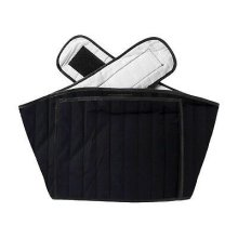 Hotties Back Wrap (Black Quilted)