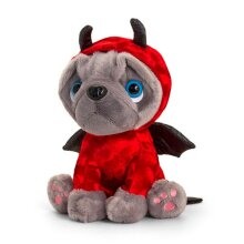 Keel Toys Frenchie Valentines Devil Plush Toy