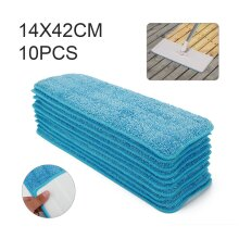 10X Spray Mop Replacement Pads Heads Microfiber Refill Wet Dry
