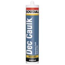 Soudal Decorators Caulk Tube