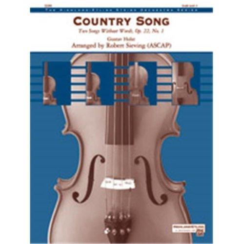 Alfred 00-41265 COUNTRY SONG-HSO