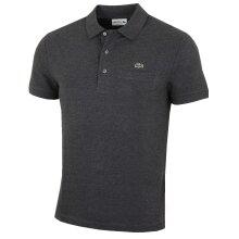 Lacoste Mens Ribbed Collar SS Cotton Polo Shirt