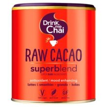 2 x Drink Me Chai Raw Cacao Superblend 100g