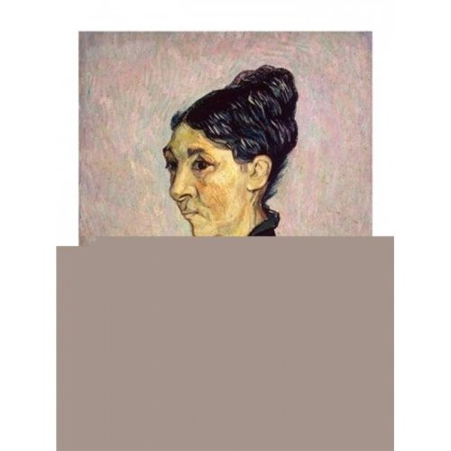 Portrait of Madame Jeanne Lafuye Trabuc 1889 Poster Print by Vincent Van Gogh - 24 x 36 in. - Large