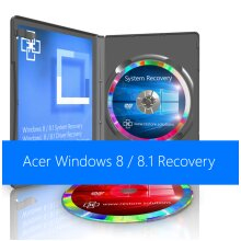 Acer Windows 8 / 8.1 System Recovery Restore Boot Disc