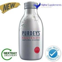 Purdeys Rejuvenated Natural Energy Multifruit Vitamin B Drink 12x330ml