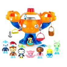 Octonauts Octopus Castle Toy Barnacles Kwazii Peso Shellington Dashi Action Figures Action Figures