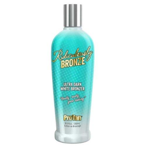 Pro Tan Ridiculously Bronze Ultra Dark White Bronzer Tanning Lotion 250ml
