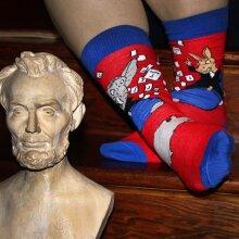 Political Humor Socks (Left vs. Right)