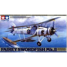 Fairey Swordfish MK II - 1/48 Aircraft Model Kit - Tamiya 61099