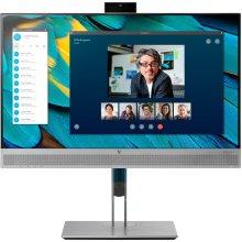 HP EliteDisplay E243m 23.8  Full HD LED Black, Silver computer monitor