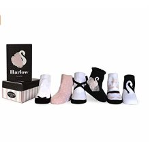 Socks - Trumpette - Harlow Pastel Girls (Set of 6) 0-12M