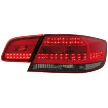 LED Back Rear Tail Lights In Red Black Pair For BMW E92 Coupe From 9/06 - On