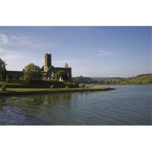 14th Century Timoleague Abbey  Timoleague  County Cork  Ireland Poster Print by  - 24 x 16
