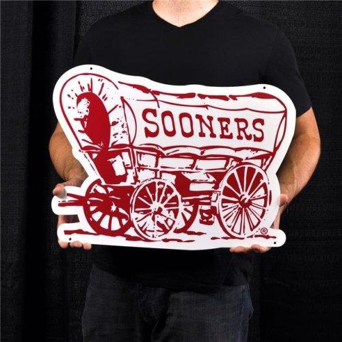 Authentic Street Signs 95412 24 in. Oklahoma Schooner Steel Logo
