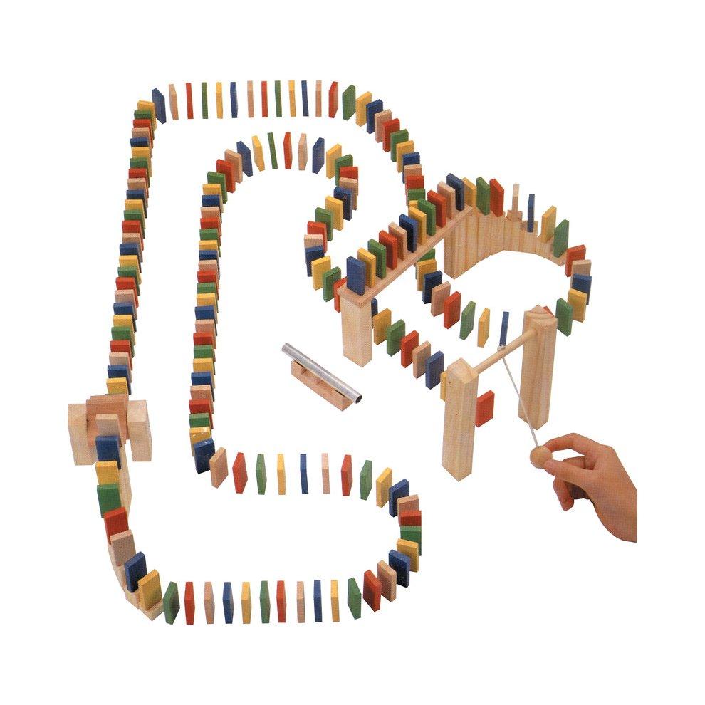 Wooden Domino Race - Tobar 00435 -  domino race wooden tobar 00435