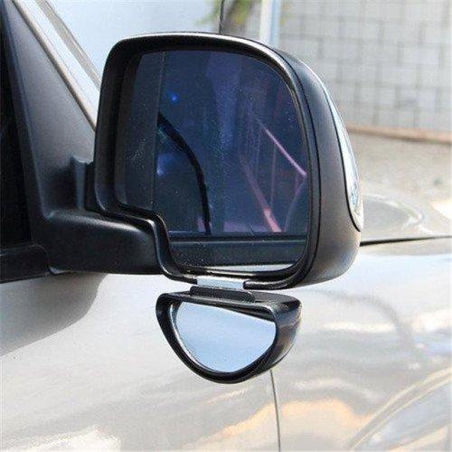 Clip on Half Oval Mirror